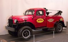 1946 Dodge DX Power Wagon 4x4 Wrecker