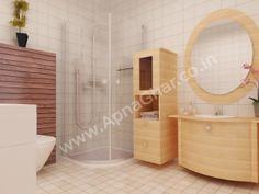 Bathroom Room Interior Design  Click this link to view more details - http://interiors.apnaghar.co.in