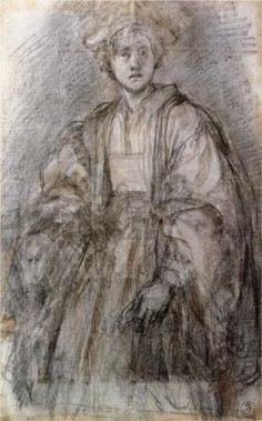 Portrait of a Youth - Jacopo Pontormo