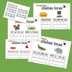 Silabas locas - FREE