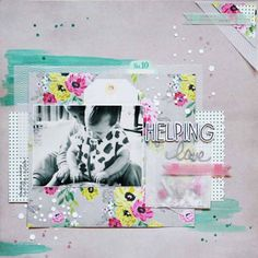 Created for the April-May edition of @espritscrapbooking @cratepaper