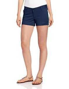KAVU Women's Catalina Shorts, Navy, 8 *** To view further for this item, visit the image link.