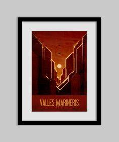 Valles Marineris - Mars