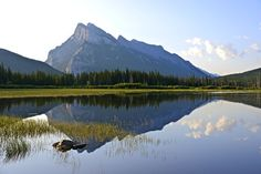 Mount Rundle Reflection