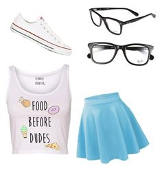 """Food Before Dudes"" by mintynoelle on Polyvore"
