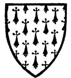 Coat of Arms for Conan I of Rennes - My Maternal Great Grandfather. Father of Judith de Brittany, and Great Grandfather of William the Conqueror. Time And Tide, William The Conqueror, Birth And Death, Viking Warrior, Colonial America, My Roots, Historical Images, God Of War, My Heritage