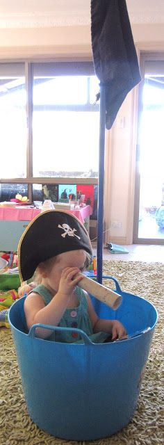 Learn with Play at home: Easy Peasy Pirate Ship for Imaginative Play