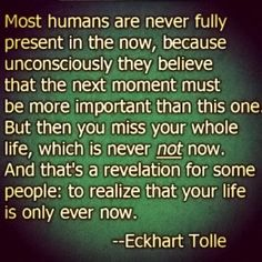 Eckhart Tolle on Living in the Now