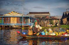 Cambogia - Cambodia #ilpiaceredelviaggio #cambogia #cambodia #asia #travel #viaggi #natura #adventure #nature #viaggiavventura #ecoturismo #ecoturismo #turismoresponsabile #market #floatingmarket #mercato