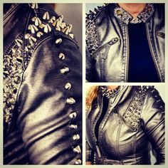 Jacket with Studs <3<3 Rock it!