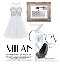 """""""My first collect Grey! (style)"""" by shemilys2-1 on Polyvore featuring moda, Jimmy Choo y Burberry"""