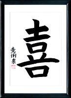 Le Bonheur. Kanji