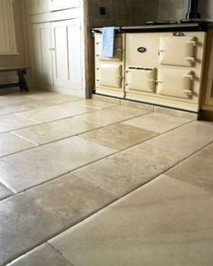 Luxury Fontenay Pillow Edged Flagstones. Mix up the tones to create a seamless and more tradition look throughout your room/home. #flagstones