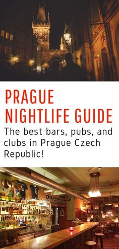 Prague Nightlife Guide – Looking for the best things to do in Prague at night? Here's your guide to the best bars, pubs, and clubs in Prague Czech Republic! Travel Info, Travel Guides, Travel Tips, Travel Articles, Travel Plan, Travel Cot, Beach Travel, Travel Deals, Hawaii Travel
