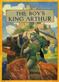Sidney Lanier   The Boy's King Arthur (Illustrated by N. C. Wyeth), 1923