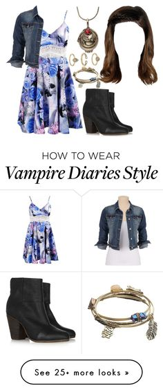"""""""The Vampire Diaries: Malia Gilbert [5x8]"""" by grandmasfood on Polyvore featuring rag & bone, maurices, Mudd and Topshop"""
