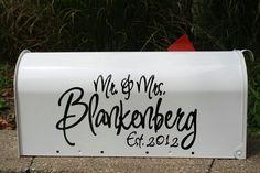 Wedding Mailbox Card Holder: BUY or DIY? | Wedding mailbox, DIY ...