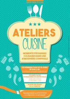 Ateliers cuisine au centre social de Cluny : http://clun.yt/2daVoqR