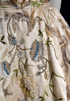 Christian Dior, Evening Dress (detail), 1951, Fashion Institute of Technology, New York