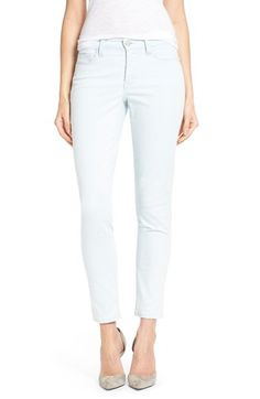 NYDJ 'Clarissa' Stretch Skinny Ankle Jeans (Oceanside) (Regular & Petite) available at #Nordstrom