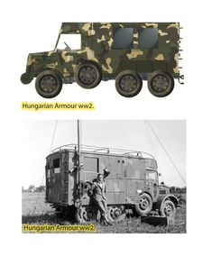 Armored Truck, Defence Force, Military Art, Skin So Soft, Motor Car, Hungary, Military Vehicles, Wwii, Monster Trucks