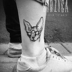 Hello kitty  One of my Friday 13th flash tattoos :) Cute, isn't it? #tattoo #tatuaż #tatuaże #ink #inked #skinart #blacktattoo #darkartist #tattoed #blackwork #tattooart #tattooer #tattoolove #tattooartist #polishartist #polishtattoo #tattooworkers #magic #cattattoo #cute #blackwork #blackworkerssubmission #lodz #polandtattoos #strzygatattoo #pretty #girlswithtattoos #sphynx #ankletattoo