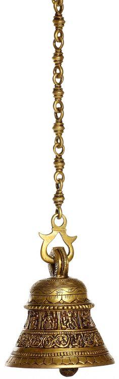 Bell with Dasavatara Panel