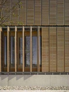 aalen university extension | screens ~ mgf architeckten