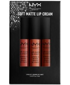 NYX Professional Makeup 3-Pc. Soft Matte Lip Cream Set