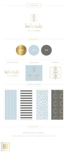 Emily McCarthy Branding | Kelly Culp Branding Board
