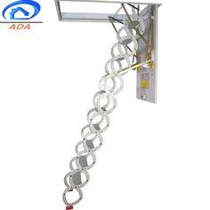 fold up loft stairs Folding Attic Stairs, Attic Ladder, Attic Loft, Retractable Ladder, Hatch Door, Air Ventilation, Loft Stairs, Best Insulation, Wooden Case