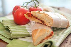 Mediterranean Pressed Sandwich from @NevrEnoughThyme http://www.lanascooking.com/2011/08/26/mediterranean-pressed-sandwich/