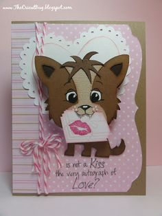 valentine w/create a critter and peachy keen stamps