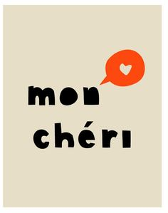 "Ma chère (female) or mon cher (male). Both mean ""my dear"" and denote respect more than affection. OTOH, ma chérie (female) and mon chéri (male) mean ""my darling"" and are more affectionate or even"
