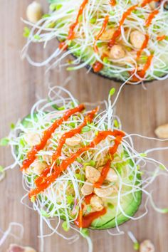 Eat, Live, Run: Thai stuffed avocados