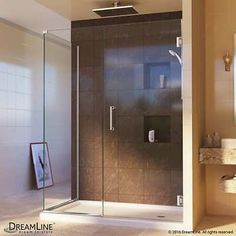 Shower Enclosures and Doors 121850: Dreamline Unidoor 72 X 45 X 34-3 8 Hinged Shower Enclosure With Clear Glass -> BUY IT NOW ONLY: $751.52 on eBay!
