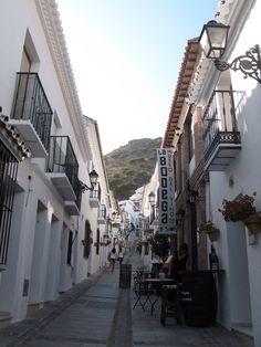 スペインの白い街並 ミハスにて