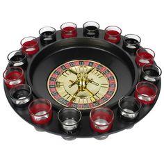 Roulette met shotjes voor jouw eigen casino met een lekker drankje erbij! Met elke roulettedraai een ander drankje proberen. Met een echte roulette draaitafel van kleiner formaat.  #vaderdagcadeau #vaderdag #vaderdagtip