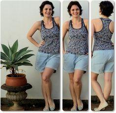 blog vitrine @ugust@ LOOKS | por leila diniz: três looks + flores do meu jardim + msg de DEUS