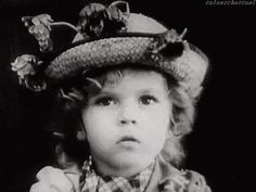 Very young Shirley Temple