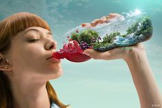 Santal - Il sapore della frutta on Behance Creative Advertising, Advertising Design, Advertising Campaign, Behance, Branding, Photoshop Photos, Photo Retouching, Photo Manipulation, Manipulation Photography