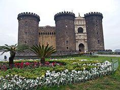 Castel Nuovo di Napoli Itália,