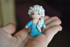 Elsa doll can be use as cake topper  Frozen by Sifakacreations, $18.00