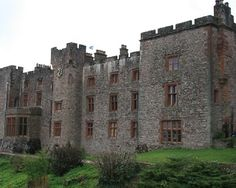 Muncaster Castle in Cumbria is haunted by a phantom jester called Thomas Skelton and the ghosts of the Tapestry Room.   Ph
