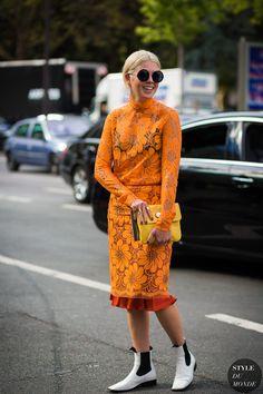 Paris SS 2017 Street Style: Megan Bowman Gray