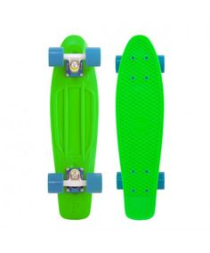 """Just in Penny Skateboards USA Penny Fluorescents 22"""" Green - PENNY FLUORESCENTS -"""