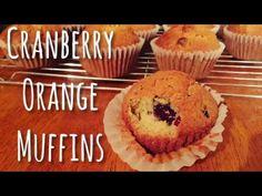 Cranberry Orange Muffins | EmilyOnline - YouTube