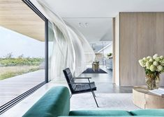 HOUSE DRAGOR Copenhagen, Denmark 2017 Interiors of a new beach villa with sweeping sea views for a family of five, who are the third. Interior Design Studio, Interior Styling, Sofa Next, Black Kitchen Island, Different Architectural Styles, Build Your Own House, Piece A Vivre, The Way Home, Nordic Design