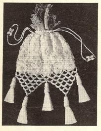 Gorgeous Evening or Anytime Bag/Purse Crocheted Pattern Vintage 723010