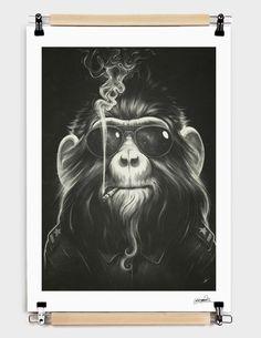 Fancy | Smoke 'Em If You Got 'Em Print by Lukas Brezak